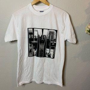 Men's New York City Graphic Tee Shirt